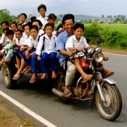 Cambodia: School transportation